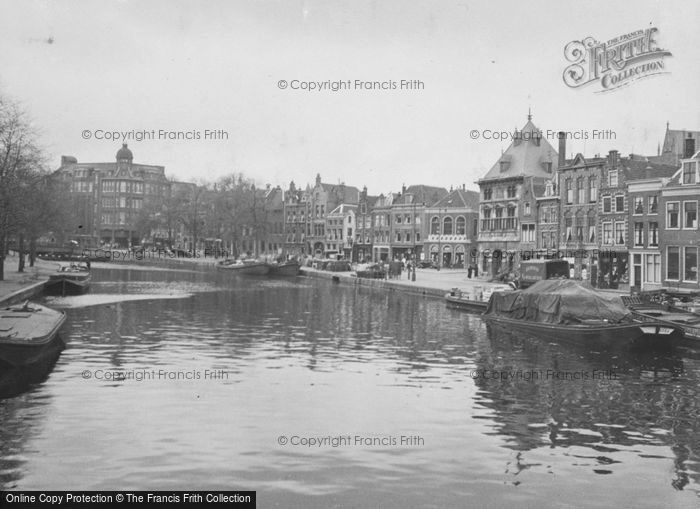 Photo of Haarlem, The River Spaame 1938
