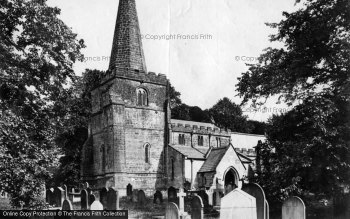 Photo of Hackness, St Peter's Church c.1878