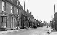 Haddenham, High Street c1950