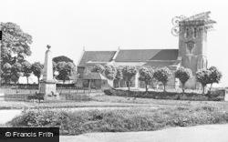St Mary's Church c.1960, Haddenham