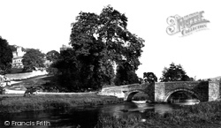And Bridge c.1884, Haddon Hall
