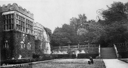 And The Terrace c.1870, Haddon Hall