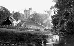 From Above The Bridge c.1862, Haddon Hall