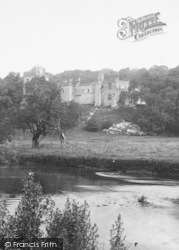 Haddon Hall, From River c.1884