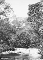 From The Lake c.1876, Haddon Hall