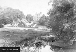 Haddon Hall, From The River c.1884