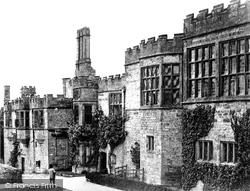 Garden Front c.1860, Haddon Hall