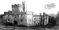 North East View c.1870, Haddon Hall