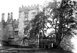Haddon Hall, North Entrance c.1862