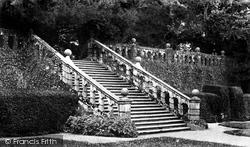 Terrace Steps c.1870, Haddon Hall