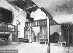 The Banqueting Hall c.1900, Haddon Hall