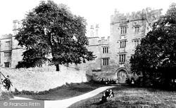 Haddon Hall, The Entrance Tower 1886