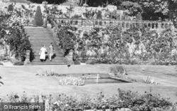 The Gardens c.1955, Haddon Hall