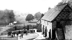 The Stables c.1870, Haddon Hall