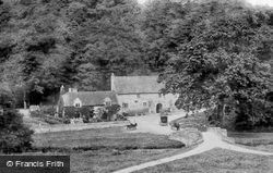 The Stables c.1884, Haddon Hall