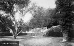 The Terrace c.1880, Haddon Hall
