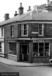 """Hadleigh, """"B E Cole"""" Greengrocer c.1965"""