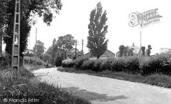 Hadleigh, Castle Lane c.1955