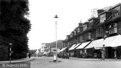 Hadleigh, Central Parade c.1950