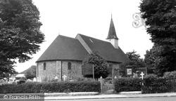 Hadleigh, Church Of St James The Less c.1955