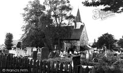Hadleigh, Church Of St James The Less c.1960
