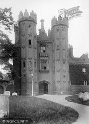 Hadleigh, Deanery Tower 1922