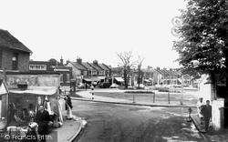 Hadleigh, London Road c.1960