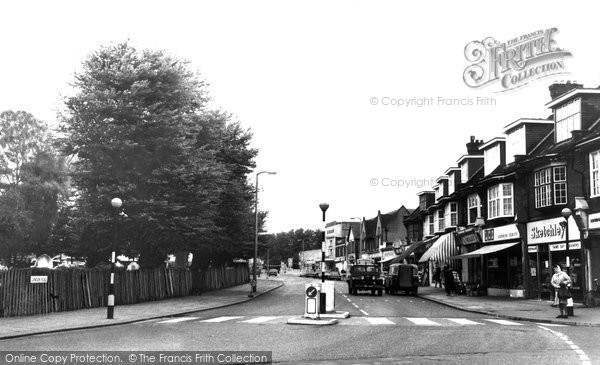 Photo of Hadleigh, London Road c1960, ref. h167020