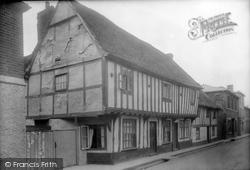 Hadleigh, Old Houses In George Street 1922