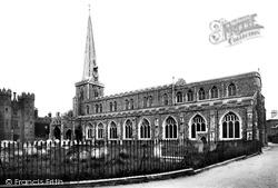 Hadleigh, St Mary's Church 1922