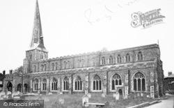 Hadleigh, St Mary's Church c.1955