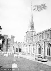 Hadleigh, St Mary's Church c.1965