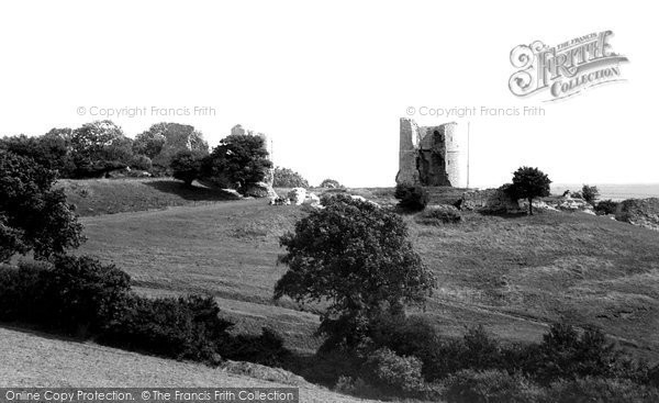 Photo of Hadleigh, The Castle 1891