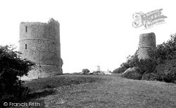 Hadleigh, The Castle 1891