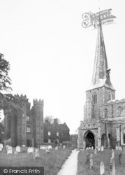 Hadleigh, The Church And Deanery c.1955
