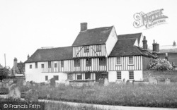 Hadleigh, The Old Guildhall c.1955
