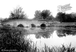 Hadleigh, Toppesfield Bridge 1922