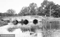 Hadleigh, Toppesfield Bridge c.1955