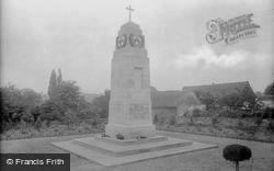 Hadleigh, War Memorial 1922