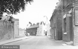 Hadlow, Castle Terrace c.1960
