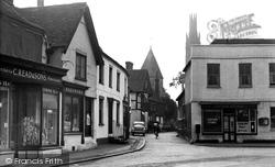 Hadlow, The Post Office Corner c.1960