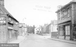Hadlow, The Village c.1960