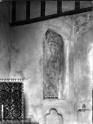 Abbey, Paintings On South Wall 1924, Hailes