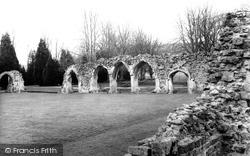 The Abbey c.1960, Hailes