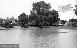 Hailsham, Bell Banks Road, The Pond c.1955