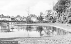 Hailsham, Common, The Pond c.1955
