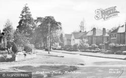 Hailsham, Ersham Park c.1955