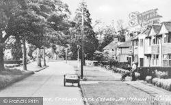 Hailsham, Ersham Park Estate, The Avenue c.1955