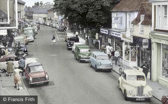 Hailsham, High Street c1965