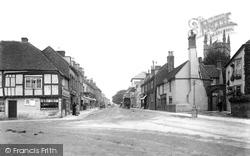 Hailsham, Market Square 1900
